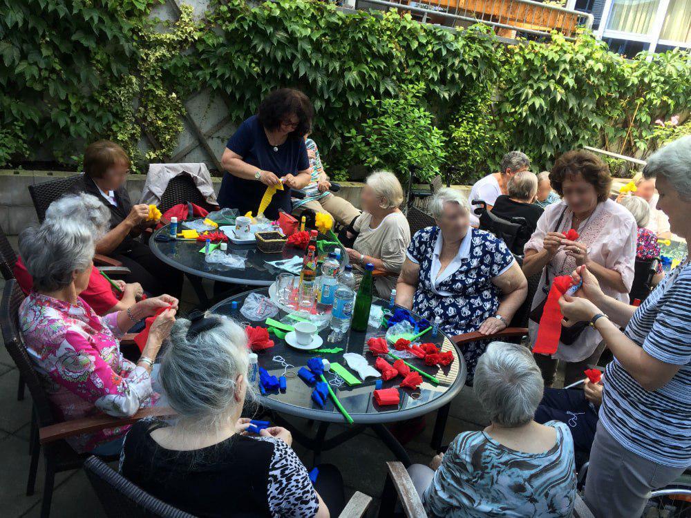 Basteln mit Senioren, Martina Weise