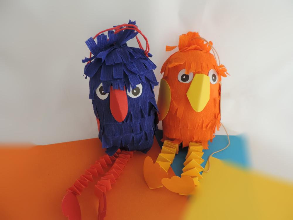 Paradiesvogelpaar